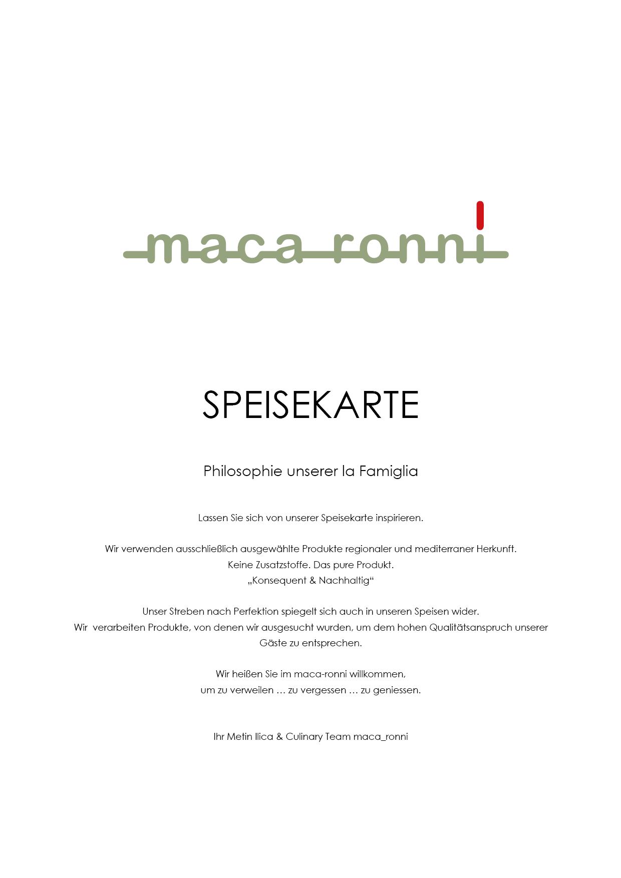 Mediterran Bedeutung home | maca_ronni restaurant - mediterrane küche - fine dining